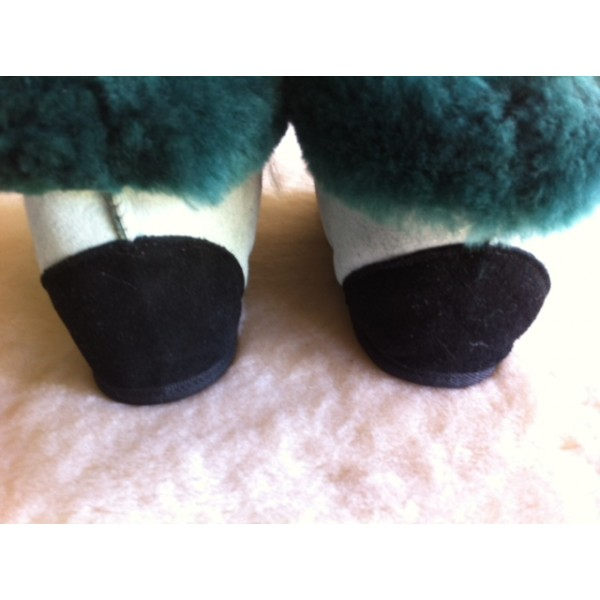 Dlx Slipper High-Temp rear Medical Sheepskin