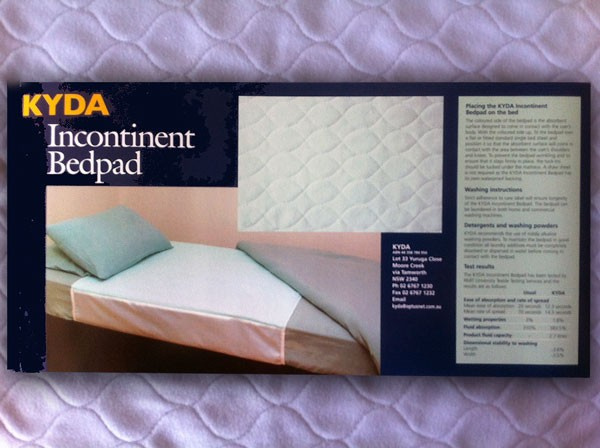 KYDA Incontinent Bed Pad